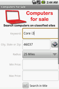 Computers For Sale - screenshot thumbnail