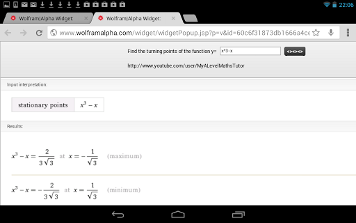 【免費教育App】Stationary Points Calculator-APP點子
