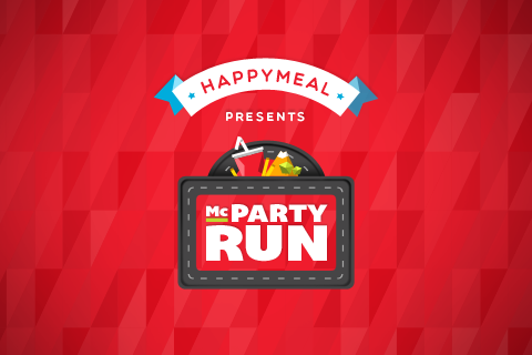 McParty Run - screenshot