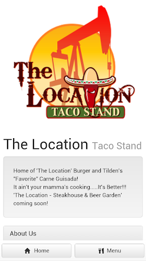 The Location Taco Stand