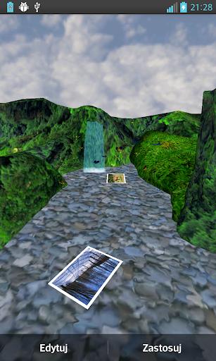 3D動畫瀑布廊
