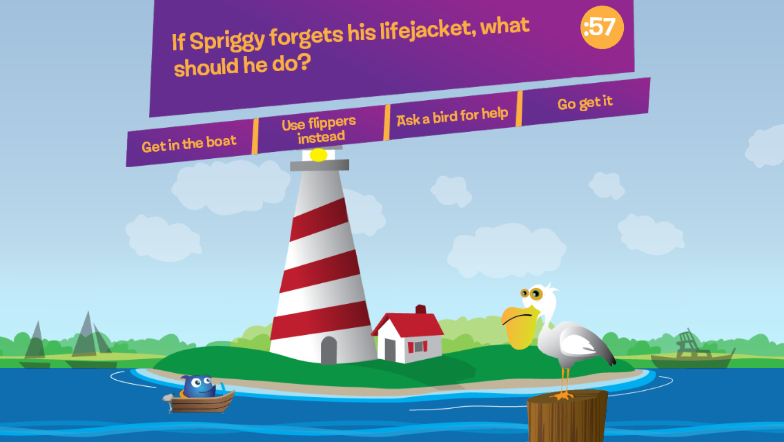 Keep Spriggy Safe: Game- screenshot