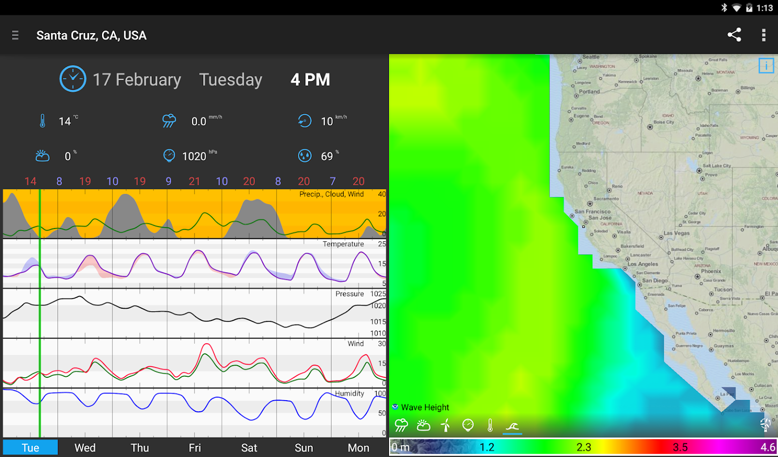 WeatherBomb- screenshot