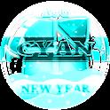 NEXT LAUNCHER 3D CyanNY THEME icon