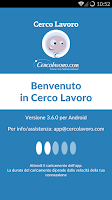 Screenshot of Cerco Lavoro