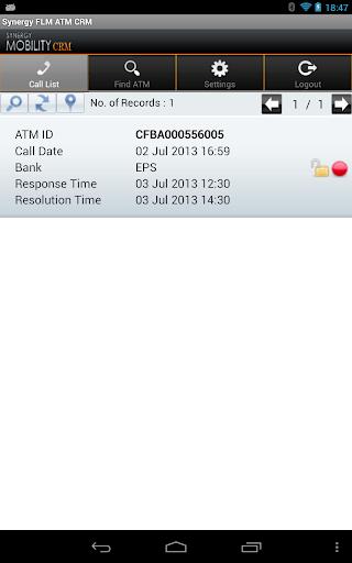 Synergy FLM ATM CRM