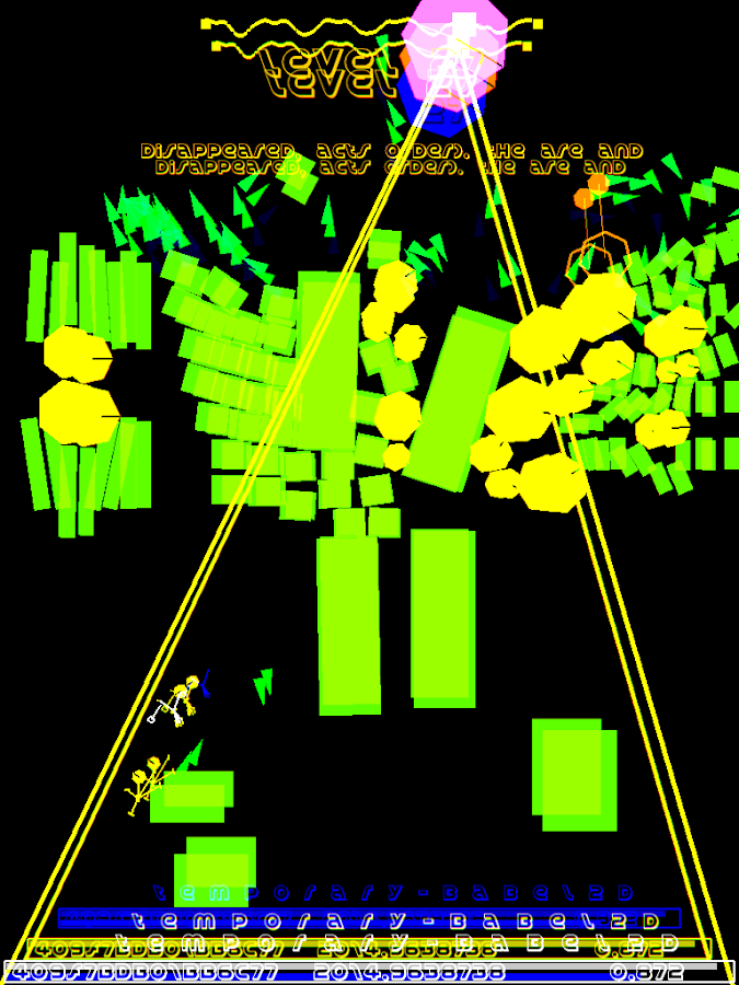 TemporaryBabel2D- screenshot