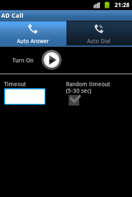 Autoresponder - screenshot