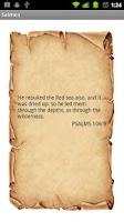 Screenshot of Psalms Of Day