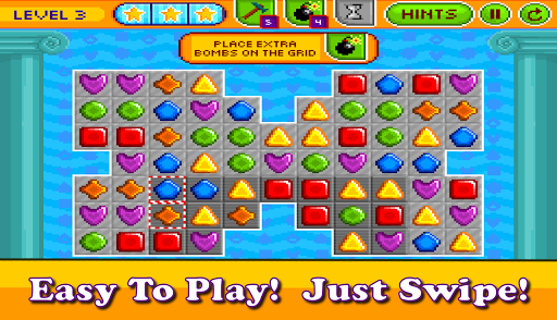Pixel Crush Mania Match 3 App