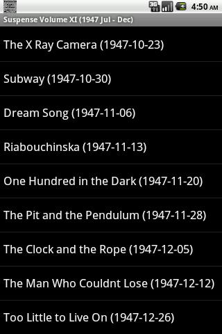 【免費音樂App】Suspense OTR Vol #11 1947-APP點子