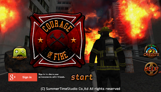 Courage of Fire- screenshot thumbnail