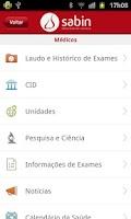 Screenshot of Laboratório Sabin