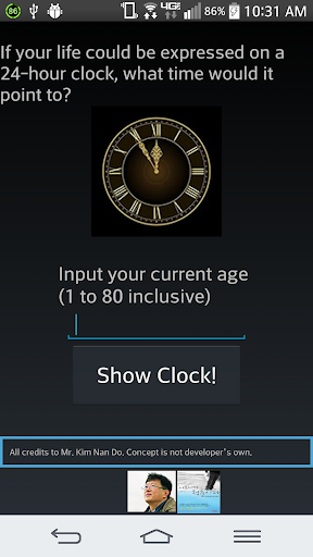 Life Age Clock