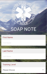 SOAP Note- screenshot thumbnail