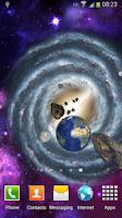 Screenshot of 3D Space Live Wallpaper