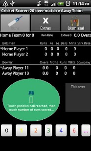 Cricket Scorer for Android- screenshot thumbnail