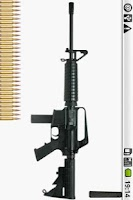 Screenshot of AR-15 machine-gun