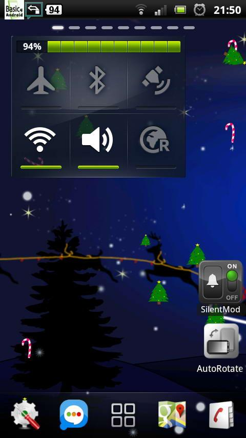 Santa Winter Christmas Eve LWP - screenshot