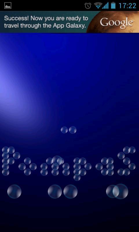 Pompas- screenshot