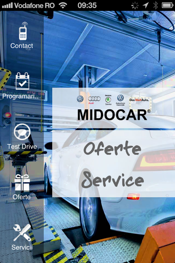 MIDOCAR- screenshot