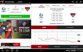 Screenshot of Essendon Official App
