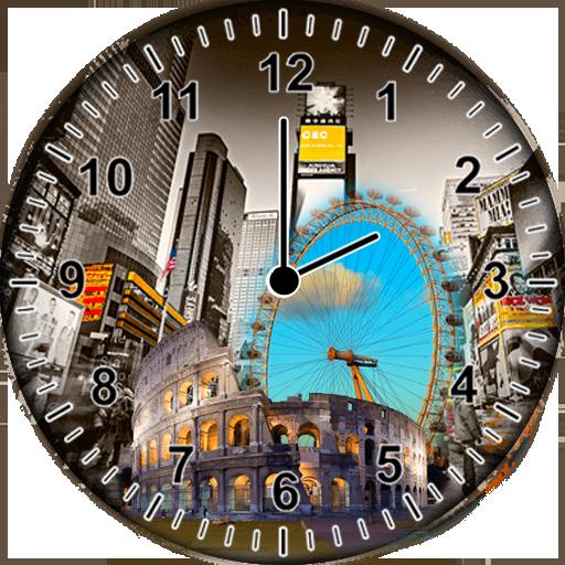 世界時計ウィジェット 個人化 App LOGO-硬是要APP