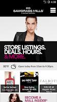 Screenshot of SIMON - Malls, Mills & Outlets