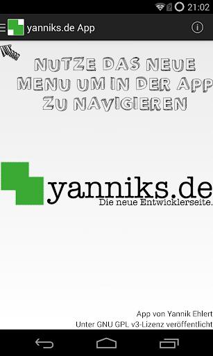 yanniks.de Android App