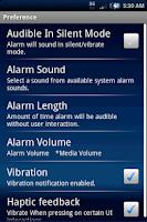 Screenshot of XperiaTimer