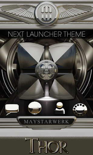 Next Launcher Theme Thor