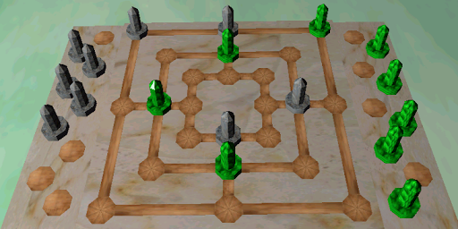 Free 3D Nine Men's Morris
