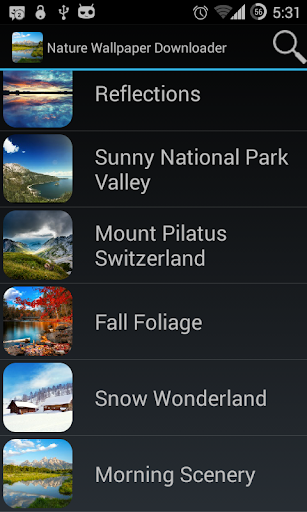 Nature Wallpaper HD Downloader