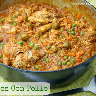 Arroz Con Pollo {Chicken and Rice}