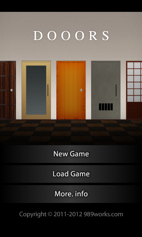DOOORS - room escape game -- screenshot