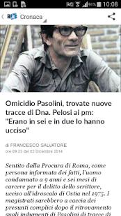 la Repubblica.it - screenshot thumbnail