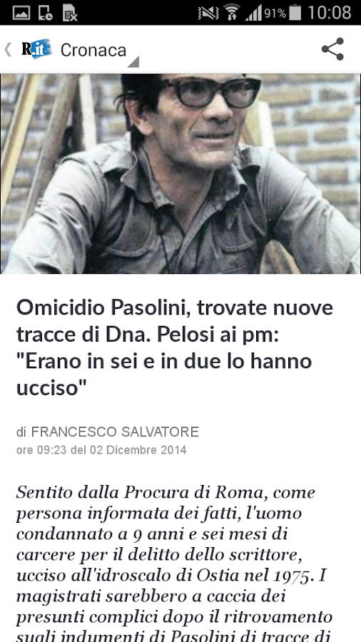 la Repubblica.it - screenshot