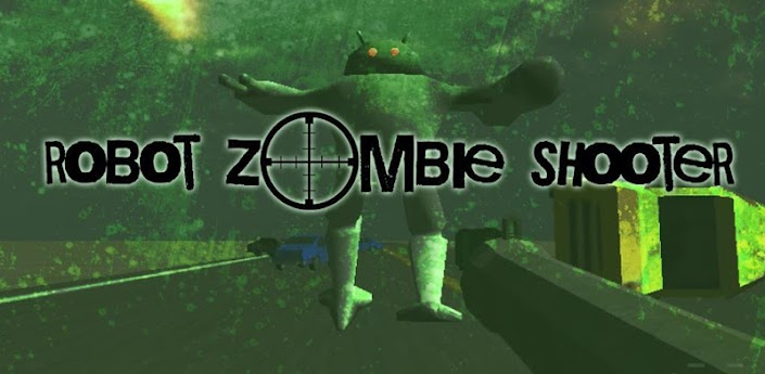 Robot Zombie Shooter 3D Game For Android Devices