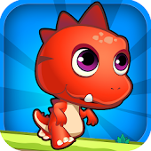 Run Rex Run Cute Dinosaur Game