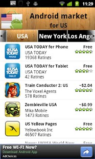 USA Android Market - screenshot thumbnail