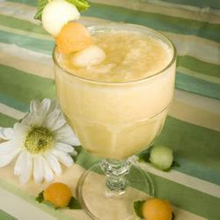 Refreshing Melon Smoothie.