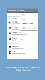 Mercury - Browser for Android Screenshot 5