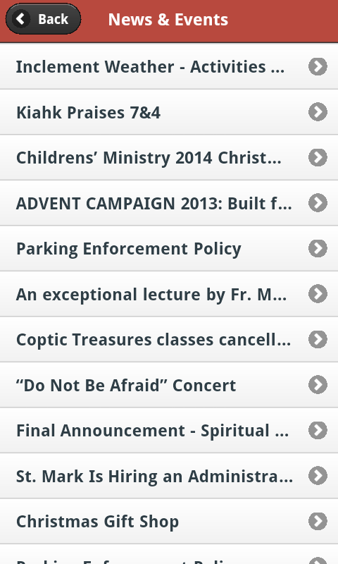 St Mark Coptic Orthodox Church- screenshot
