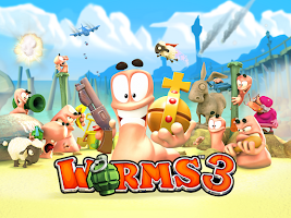 Screenshot of Worms 3