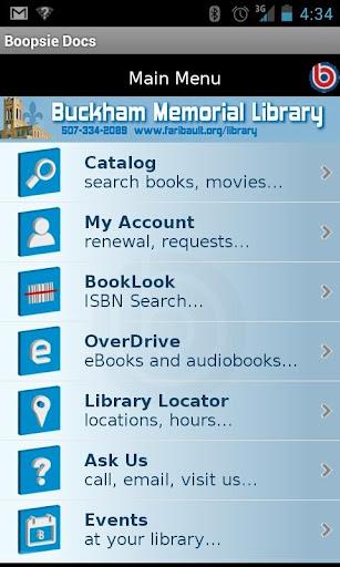 Buckham Library 2Go