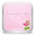 GOSMS Pink Valentine Theme icon