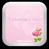 GOSMS Pink Valentine Theme