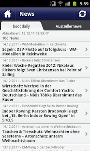 boot Düsseldorf App - screenshot thumbnail