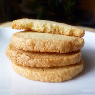 Almond Shortbread Refrigerator Cookies