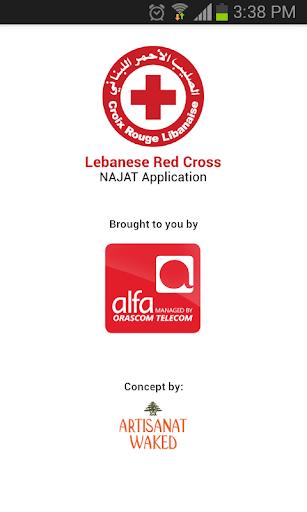 【免費商業App】Lebanese Red Cross – NAJAT-APP點子